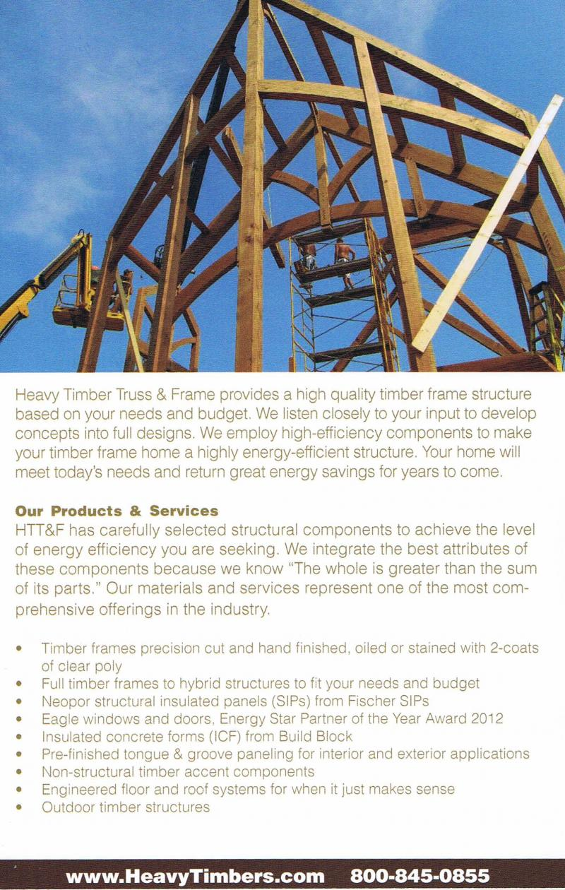 B C timber framing - Your Heavy Timber Truss & Frame Partners